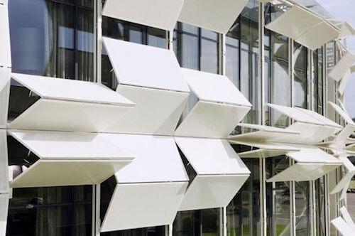 pannelli per esterno in stile minimalista