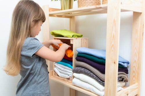idee per decorare lo spogliatoio per bambini