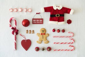 Decorazioni natalizie alternative.