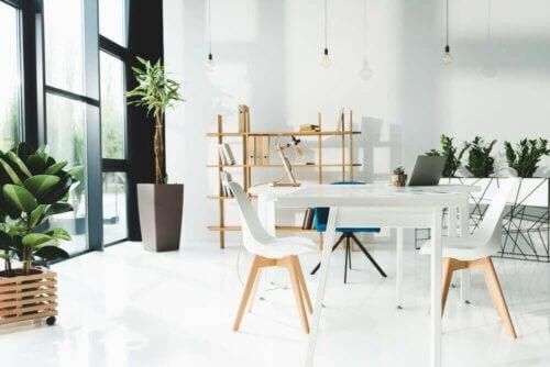 Mobili per l'ufficio: i colori migliori per lavorare bene