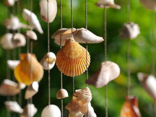 Idee originali per decorare con i sonagli a vento
