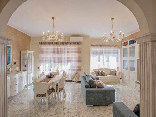 Lo stile romano nella decorazione d'interni