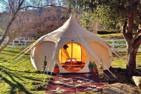 Tenda beduina rotonda