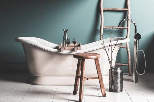 3 suggerimenti per decorare la vasca da bagno