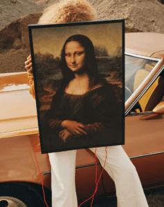 Monna Lisa nella collezione markerad di Ikea