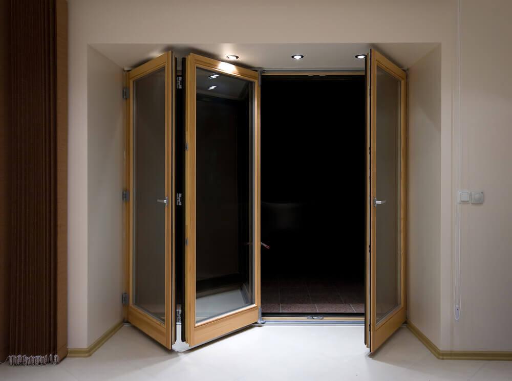 Porte interne a soffietto