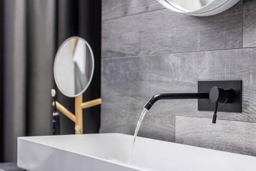 I rubinetti con installazione a parete: l'ultimo trend per il bagno