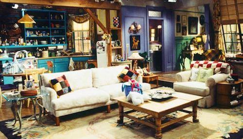 decorazioni serie tv appartamento friends