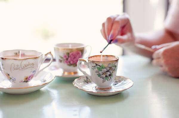 Usi alternativi tazze di caffè