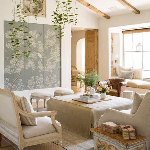 salone in stile provenzale