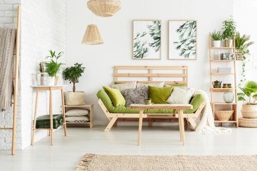 Come inserire dettagli naturali per la decorazione
