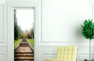 Effetto del trompe l'oeil sulle pareti di casa