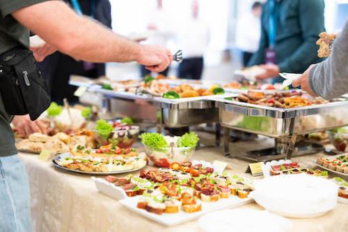 Come organizzare un buffet perfetto con la tecnica FRAC