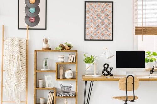 3 scrivanie per piccoli spazi belle e funzionali
