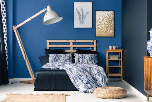 Blu indaco: come usarlo nella decorazione