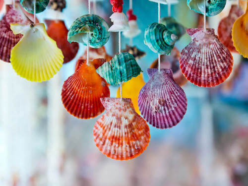 Idee per decorare la vostra casa con le conchiglie