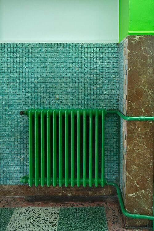 termosifone verde