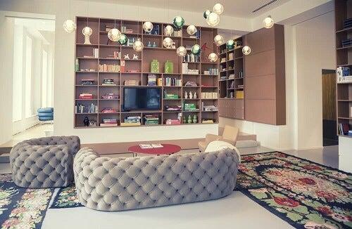 Modelli di librerie: 9 soluzioni pratiche per i vostri libri