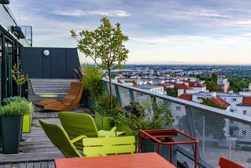 Idee per decorare una terrazza in modo originale