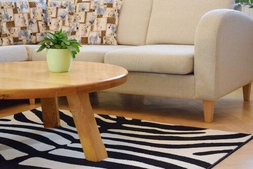 Motivi zebrati: idee per la decorazione