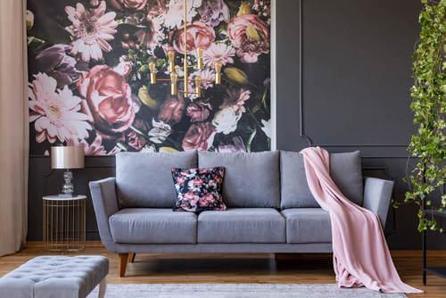Decorare con i tessuti: comodità e glamour