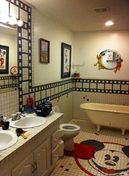 Accessori bagno per bambini: tema Disney