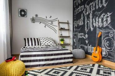 Idee per decorare la cameretta di un adolescente
