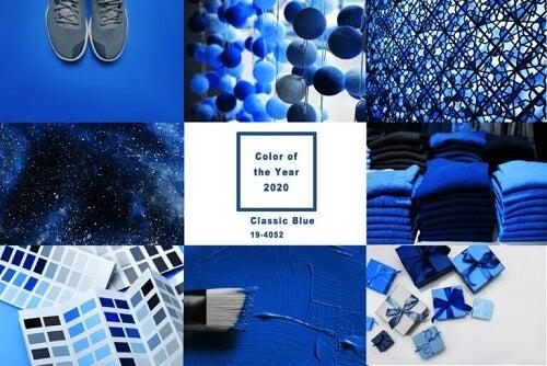 Imparate ad abbinare il Classic Blue, il colore dell'anno secondo Pantone
