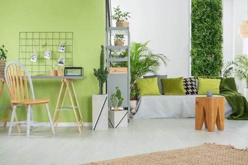 Il verde pistacchio e i suoi possibili usi in casa