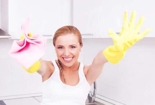 Come disinfettare la casa in modo rapido ed efficace