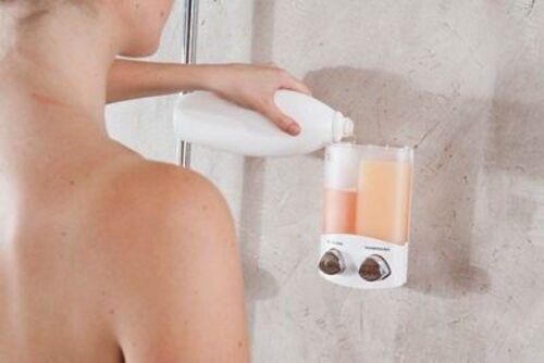 Sapone: dispenser da doccia