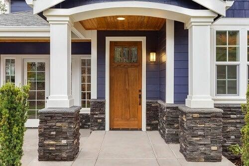 10 idee per una facciata di casa originale