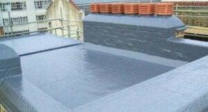 Sistema di isolamento termico per soffitto.