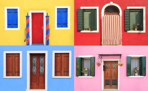 Colori della facciata: le nuove tendenze
