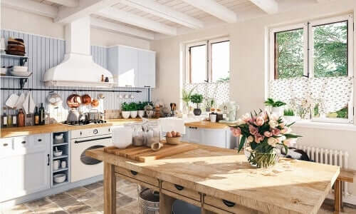 Il segreto per realizzare una cucina vintage