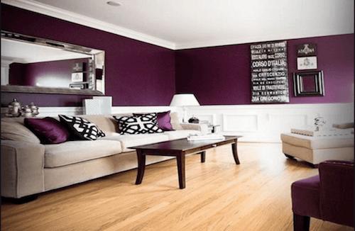 Viola melanzana: come usarlo nella decorazione