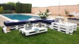 Recinto di siepi per creare intimità in casa e in giardino.