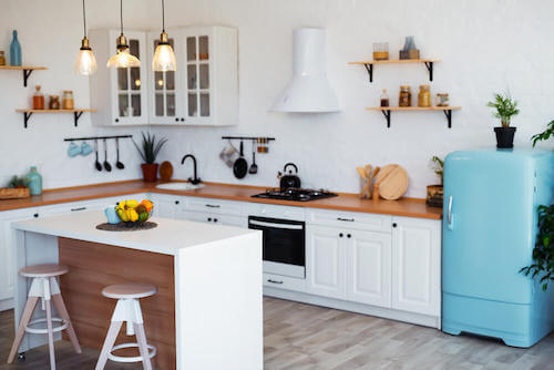 Rinnovare la cucina. Realizzare una cucina con materiali sostenibili.
