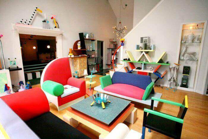 Il fascino colorato del Memphis Design