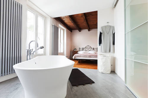 Bagno open space.