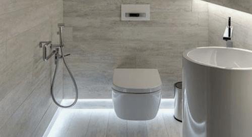 Illuminazione per il bagno.