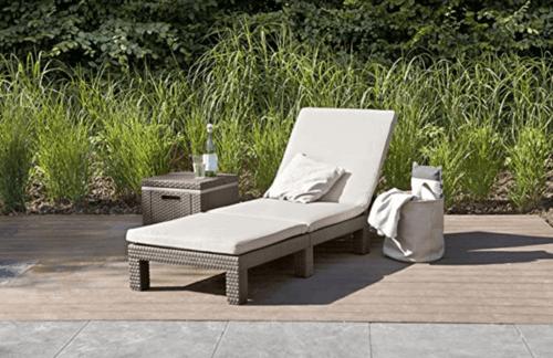 Tipi di sdraio da giardino: comode e funzionali