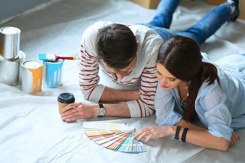 Come scegliere il colore giusto per ridipingere le pareti