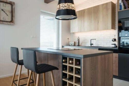 Mobili in legno per la cucina