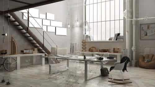 Tavoli da ufficio in stile industriale: caratteristiche e design