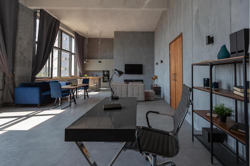 Appartamento in stile moderno.