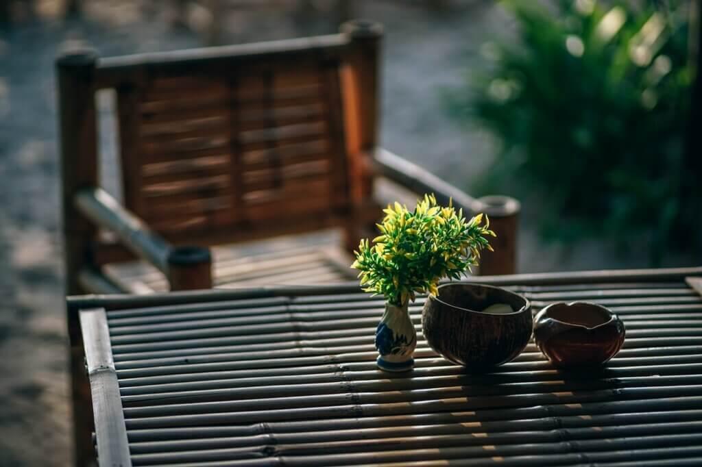 Decorazione con bambù, il materiale sostenibile che adorerai