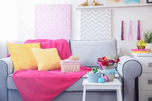 Abbinare rosa e giallo per un tocco pop