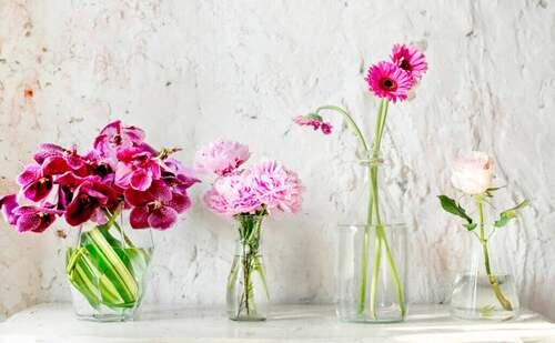 Elementi decorativi che offrono una sensazione di leggerezza