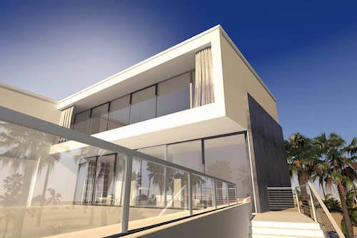 Ringhiere in vetro per abbellire la vostra casa